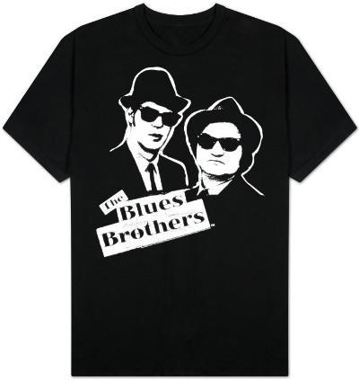 The Blues Brothers - B&W Blue