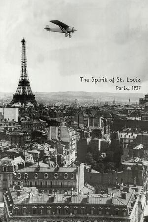 Spirit of St. Louis at Paris