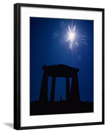 Isis Temple and sunburst