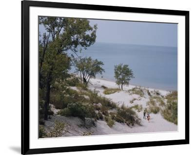 Indiana Dunes State Park provides a playground on Lake Michigan