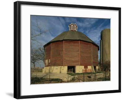 Teeple Barn, Built Circa 1885 by Dairy Farmer Lester Teeple, is the Only 16-Sided Barn in Illinois