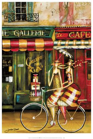 Girlfriends in Paris
