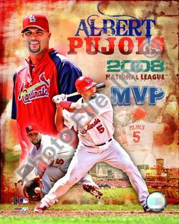 Albert Pujols 2008 NL MVP