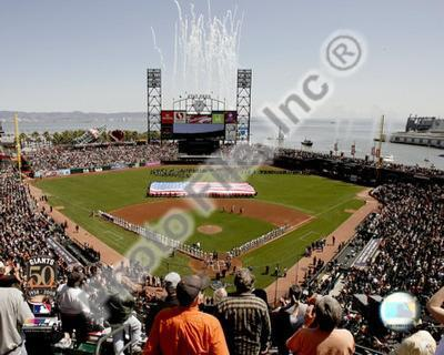 AT&T Park 2008 Opening Day; SanFrancisco Giants