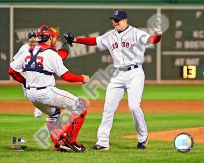 Jon Lester's 2008 No Hitter, Celebration
