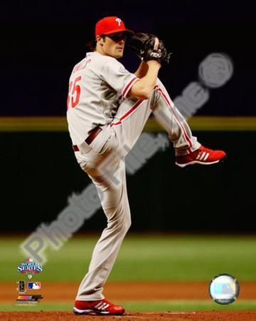 Cole Hamels Game one of the 2008 MLB World Series