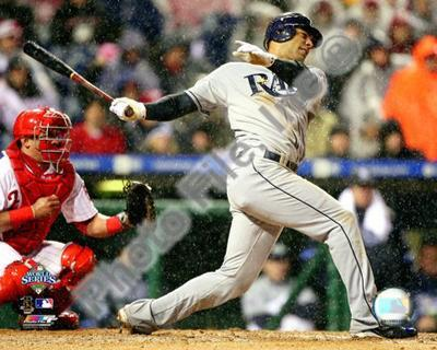 Carlos Pena Game 5 of the 2008 MLB World Series