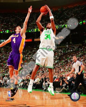 Paul Pierce, Game 1 of the 2008 NBA Finals; Action #2
