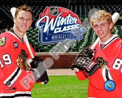 Jonathan Toews & Patrick Kane 2009 NHL Winter Classic Promotion
