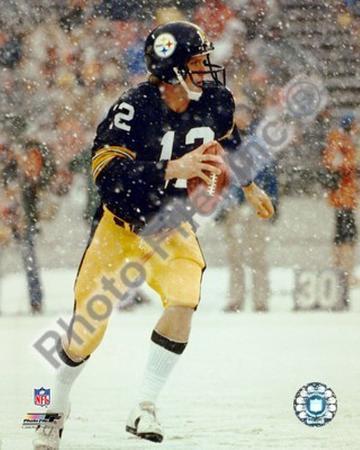 Terry Bradshaw  / In snow