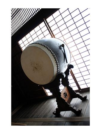 Taiko Drum That Was Inside of the Temple
