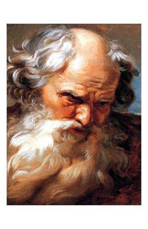 Study for the Head of Neptune