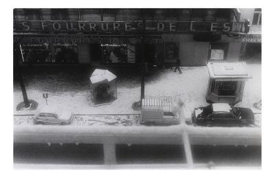View from the Window in Paris
