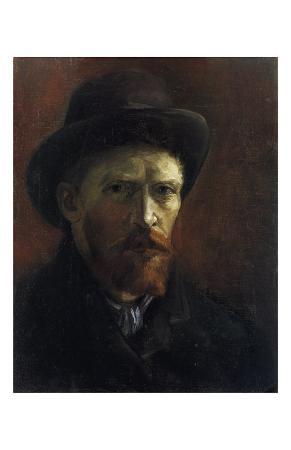 Self-Portrait with Dark Felt Hat