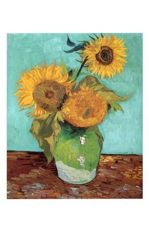 Sunflowers, First Version