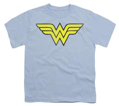 Youth: DC Comics - Wonder Woman Logo - Distressed