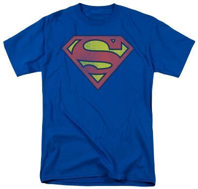 Superman - Distressed Retro Logo