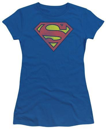Juniors: DC Comics - Superman - Retro Logo Distressed