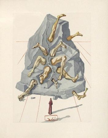 Divine Comedie, Enfer 19: Les Simoniaques