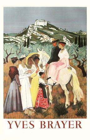 Arlesienne et gardians en Provence