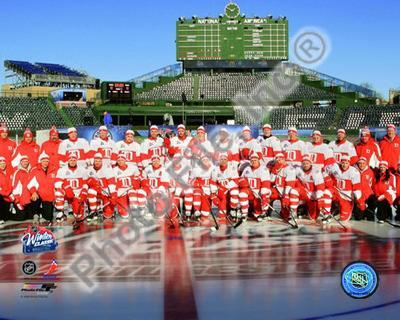 The Detroit Red Wings 2008-09 NHL Winter Classic