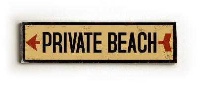 Private Beach arrow