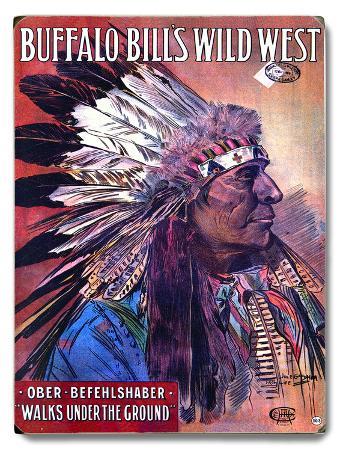 Buffalo Bill Wild West Indian