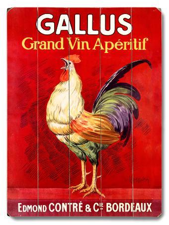 Gallus Vintage Poster