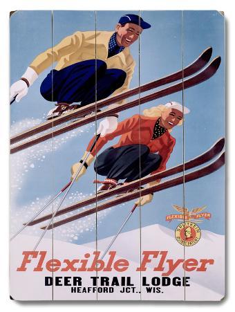 1954 Deer Lodge Flexible Flyer Ski
