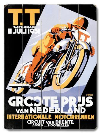 Dirt Track TT Motorcycle Racing