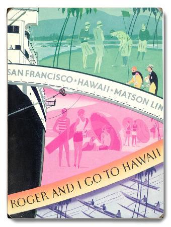 Roger and I go to Hawaii