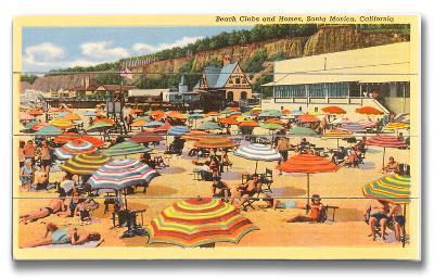 Beach Clubs and Homes, Santa Monica