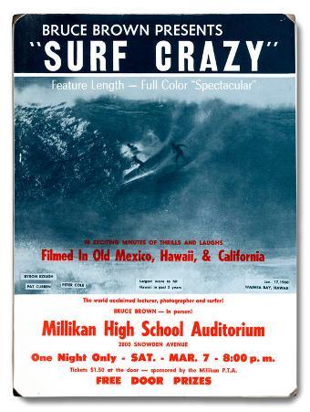 Bruce Brown Films - Surf Crazy