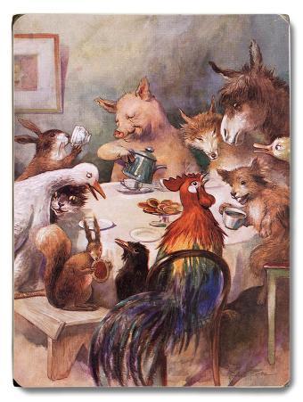 Farm Animals, Dining