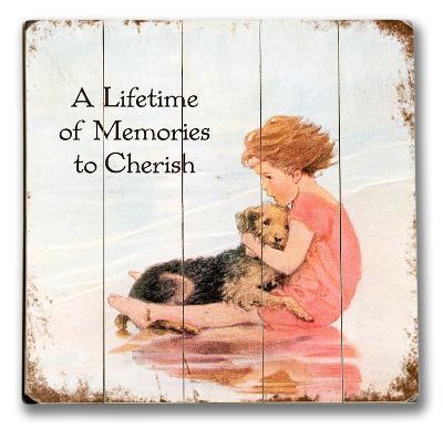 Girl & Dog - Lifetime of Memories