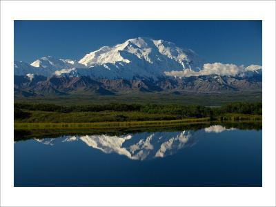 Mt, McKinnley Reflection, Alaska