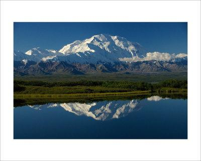 Mt, McKinnley Reflection, Alaska