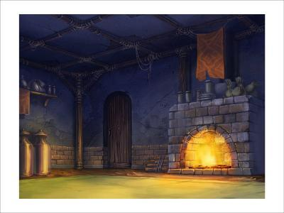 The Fire of the Fireplace