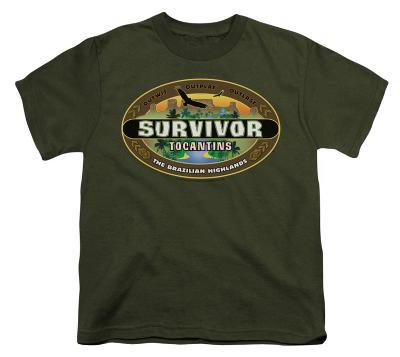 Youth: Survivor - Tocantins Logo