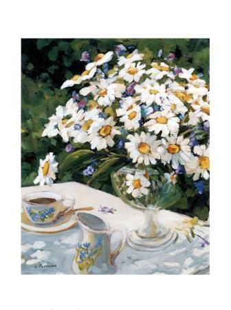 Breakfasting with Daisies