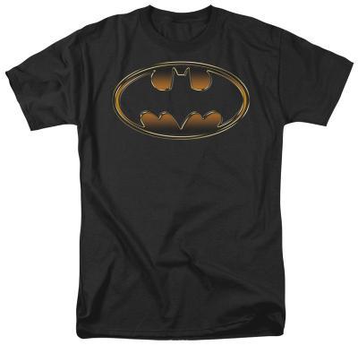 Batman - Black & Gold Embossed Shield