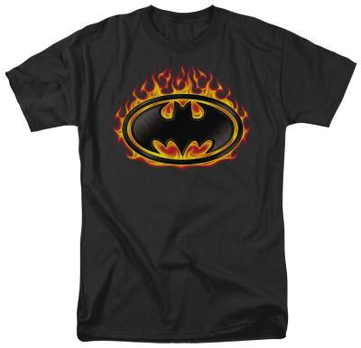 Batman - Bat Flames Shield