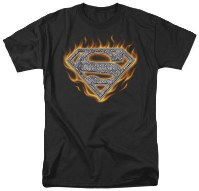 Superman - Steel Fire Shield
