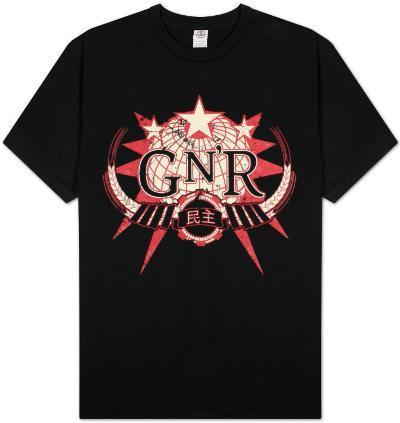 Guns N Roses - Globe Logo