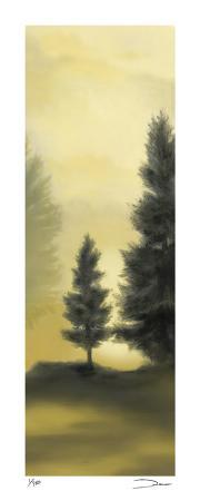 Trees in the Mist I
