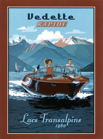 Vedette Rapide, Lacs Transalpins