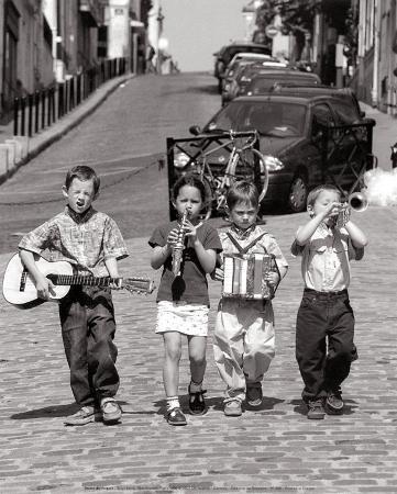 Boys' Band, Montmartre, Paris, c.1999