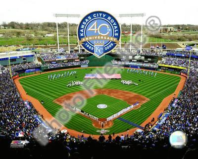 Kauffman Stadium - 2009 With 40th Anniversary