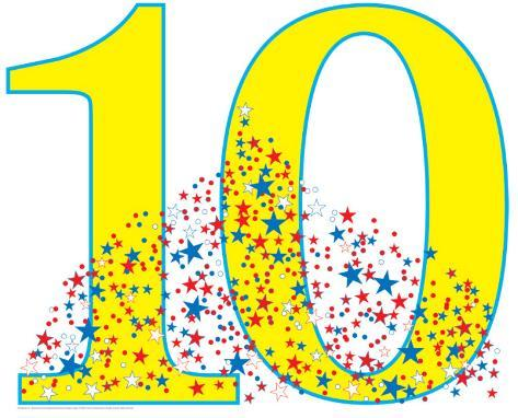 birthday number 10