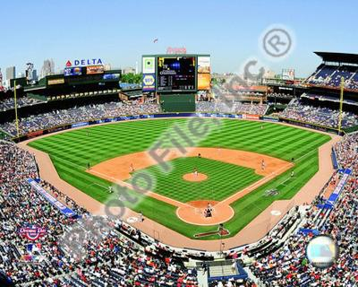 Turner Field - 2009 Opening Day